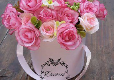 flowerbox umelé ruže