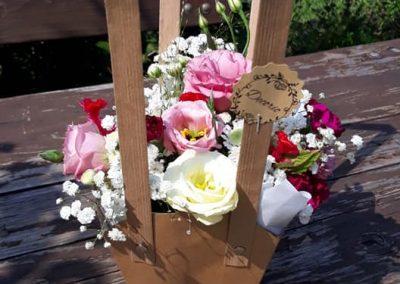 flowerbox v taštičke