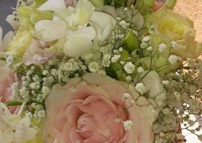 svadobná kytica Pastelová jemnosť