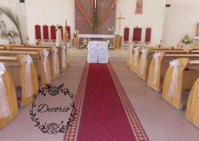 výzdoba kostola Rajecké Teplice