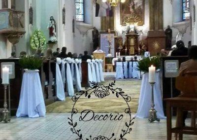 výzdoba kostola Višňové