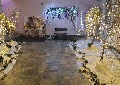 výzdoba plesu Benátska noc pre Universal
