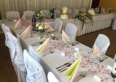 výzdoba svadby Konská 2016