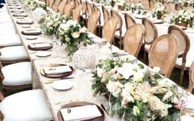 5 tipov, ako zladiť svadobnú výzdobu so svadobnými trendami na rok 2020